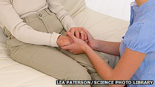 _68929380_c0158821-elderly_woman_and_carer-spl