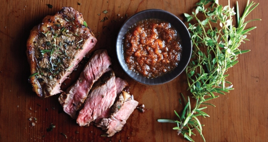 strip-steak-with-japanese-dipping-sauce