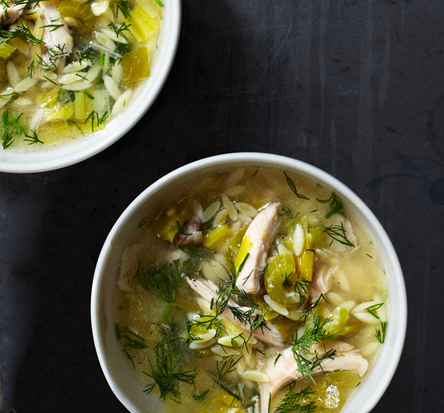 Lemony Chicken and Orzo Soup – Bon Appétit | Headlines